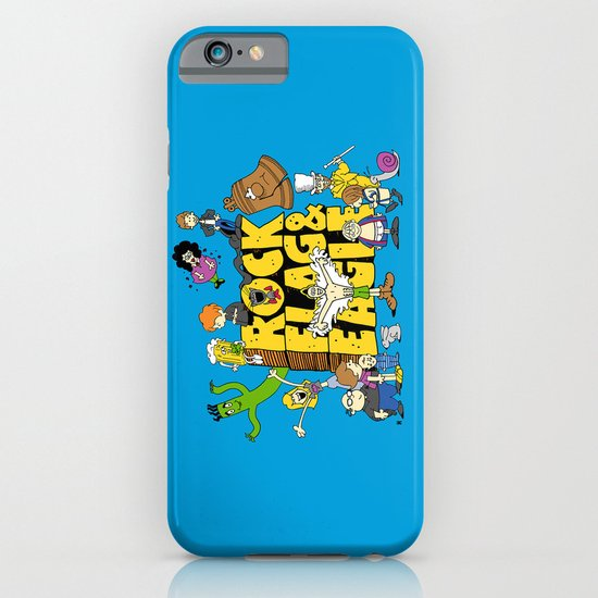 Rock, Flag & Eagle iPhone & iPod Case