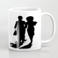 charlie chaplin Mugs featuring Charlie Chaplin by Sberla