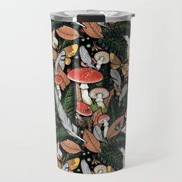 Nocturnal Forest Travel Mug