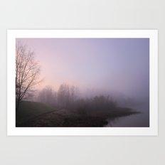 Land of Mist and Legend Art Print