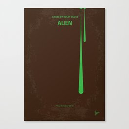 No004 My Alien MMP Canvas Print