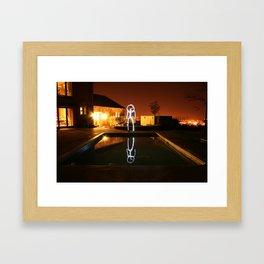 Reflections. Framed Art Print