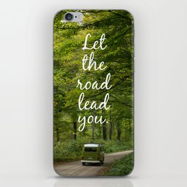 Let the road lead you - Summer iPhone Skin
