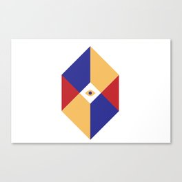 S Q | Eye Canvas Print