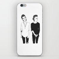 matty healy iPhone & iPod Skins featuring Matty by girlwiththetea