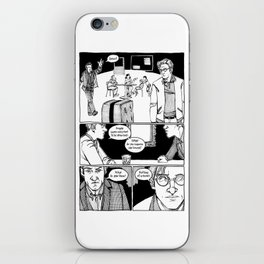 Johnny Public chapter 10, page 18 iPhone Skin