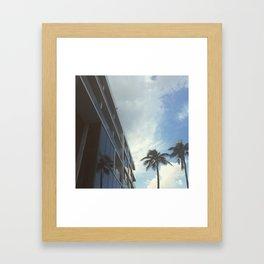 Palm Beach, Florida 2015 Framed Art Print