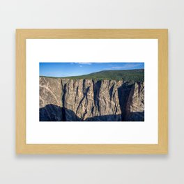 The Painted Wall Framed Art Print