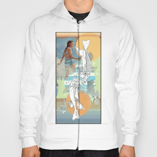skeleton surf Hoody