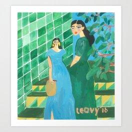 Green Kunstdrucke