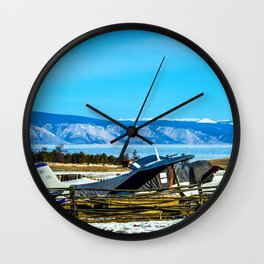 A plane is not a luxury Wall Clock