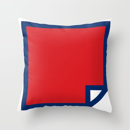 Lichtenswatch - Wham Throw Pillow