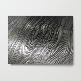 Damascus Blade 1 Metal Print