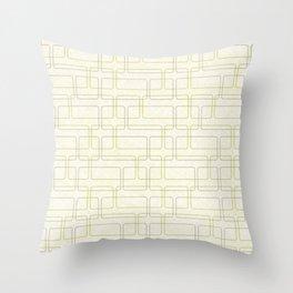 Cuadrados One Throw Pillow