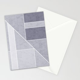 Simple geometric pattern. 3 Stationery Cards