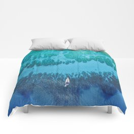 Roatan Island, Honduras Comforters