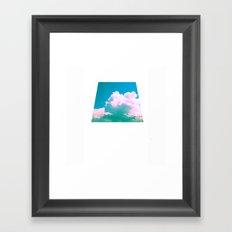 Cloudscape V Framed Art Print