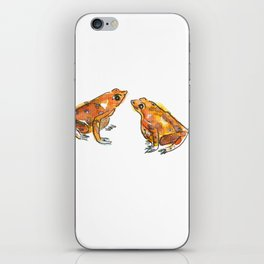 Let's frog about it! iPhone Skin