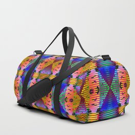 3105 Lights, stains, stripes, and patterns 1 ... Duffle Bag