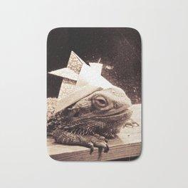 Paper Samurai, Bearded Dragon, Lizard Bath Mat