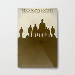 Dead Poet's Society - Alternative Movie Poster Metal Print