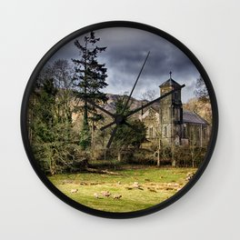 Sanctuary in the Storm Wall Clock