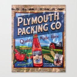 Plymouth Mural Canvas Print