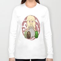 mother of dragons Long Sleeve T-shirts featuring Mother of Dragons by Cosmic Lab Creations