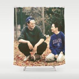 Chandler Bing & Monica Geller; Friends Shower Curtain