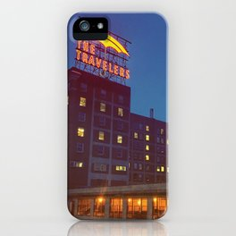 The Travelers iPhone Case