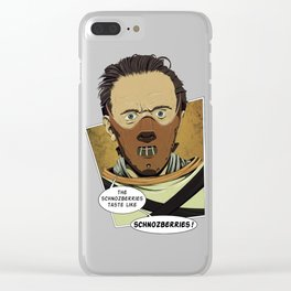 Lecter Wonka Clear iPhone Case