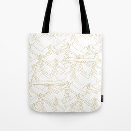 Golden Drone Tote Bag