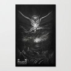 BounD Owl/Moloch  Canvas Print