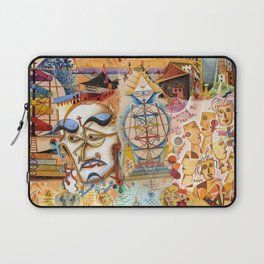 Xul Solar collage Laptop Sleeve