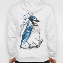 True Blue Jay Hoody