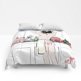 Red Hand Comforters