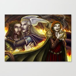 Vǫlsunga saga – Lovepotion I Canvas Print