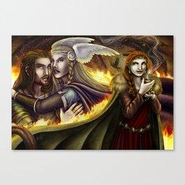 Vǫlsunga saga – Lovepotion I Canvas Print