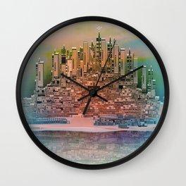 Memory Island Wall Clock