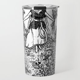 Flower Priestess Travel Mug