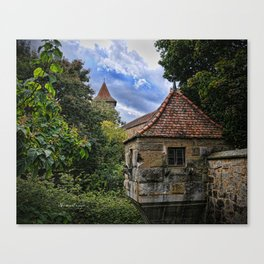 Rothenburg 14 Canvas Print