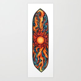 Sanctification Cometh (Vertical Deck) Art Print