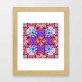 Abstract Design Framed Art Print