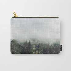 Foggy Treetops Carry-All Pouch