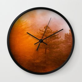 Sunrise Hug Wall Clock