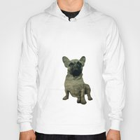 frenchie Hoodies featuring Frenchie by Mi Nu Ra