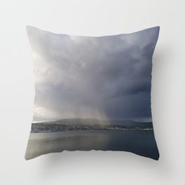 Sunrays Over Dunedin Throw Pillow