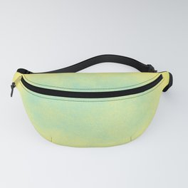 Abstract spring green, yellow and blue Fanny Pack