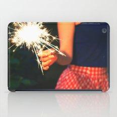 summer sparkler iPad Case