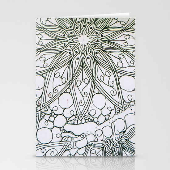 Bare lines Stationery Cards